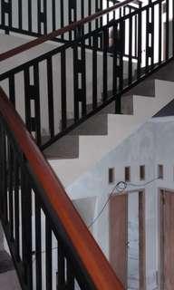 Reling tangga reling pegangan kayu