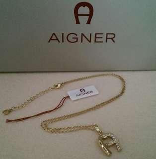 Etienne Aigner Necklace (Gold Plated)