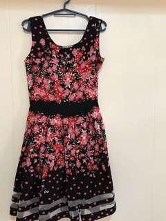 Petit Monde floral dress