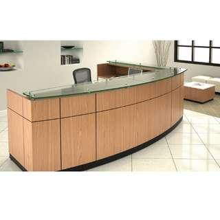 OFFICE PANTRY RECEPTION EXECUTIVE TABLES--BBFT