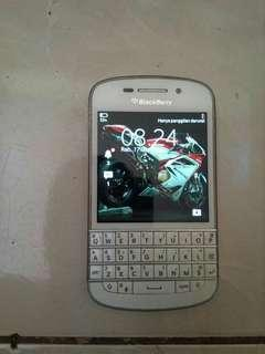 Blackberry Q10 4G white bs wa