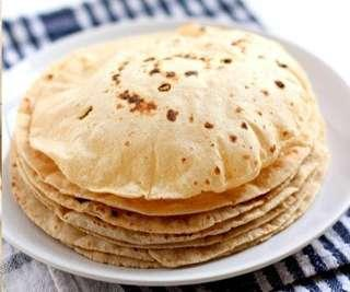 Hot and healthy chapatti