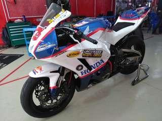 2015 honda cbr 600rr HRC race bike