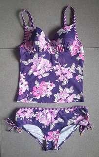 2pc Floral Swimwear
