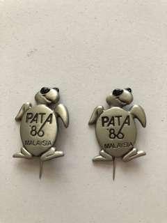 PATA '86 Selangor Pewter's Pin