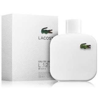 Lacoste White Blan L.12.12