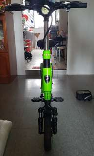 Used 36V250W Aleoca E-Potenza X.1 E-Scooter