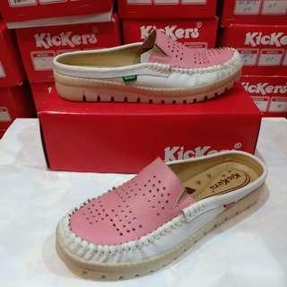 Kickers women shoes kulit