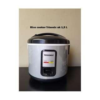 Magic Com Trisonic Rice Cooker Terbaik Kapasits Besar 1.5 Liter Bergaransi