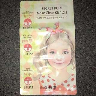 5 Secret Pure Nose Clear Kit 1.2.3