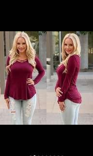 Long sleeve top postage included