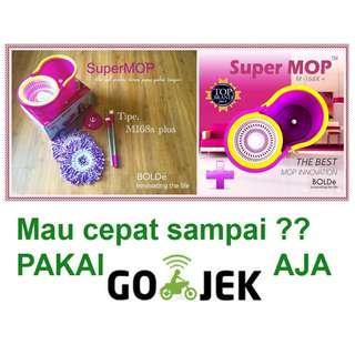 Alat Pel Modern Super MOP BOLDe Type M-168X PLUS (+) Series Harga Murah