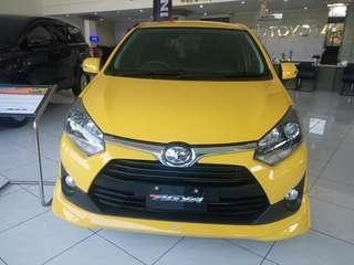 Toyota Agya DP 13 Juta