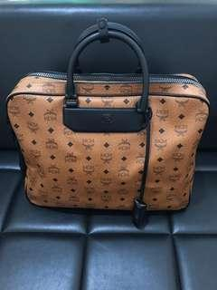 Authentic MCM Briefcase