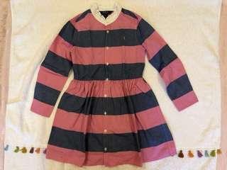 🚚 120cm polo 女童洋裝