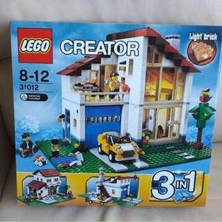 Lego 31012 燈屋