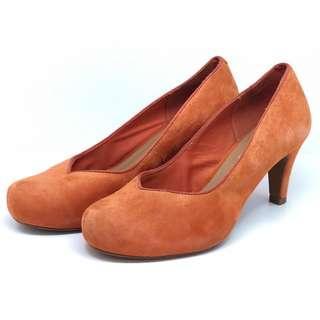 Clarks Heels Orange Original Second