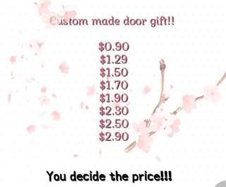 Door gift custom made