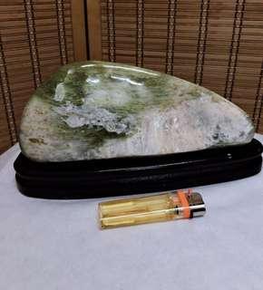 🚚 花蓮玉石 南疆玉 風景石 風水 擺件 小型景品