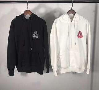 Palace Skateboard Graphic Hoodie Pullover Sweater