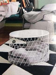 Kvistbro 儲物桌 ikea全新白色
