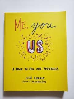 Me, you, us, a book to fill out together