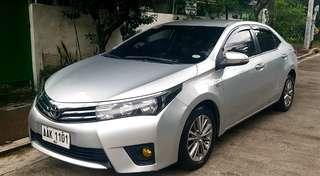 Toyota altis 2014 1.6g AT