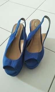 Blue Heels by Nose