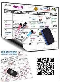 美國🇺🇸 Magnetic To-Do-List Calendar 大大張磁貼記事板📝