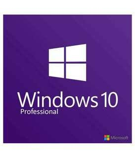 Windows 10 Pro  專業版 key  正版 license 由Windows online activate 啟動保證正版 長用. #sellfaster