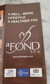 aFond Spa Body Scrub and Body Massage