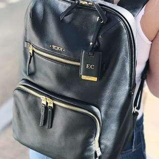 100% Authentic Tumi Halle Bagpack Leather