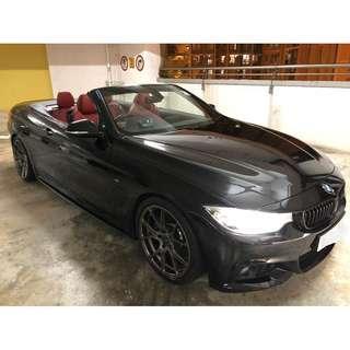 BMW 428I M SPORT CABRIO 2015