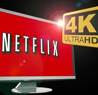 4K 高清 Netflix Account 30days 大量美劇電影 watch on mobile tablet notebook laptop tv  電腦電話平板都睇到