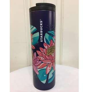 Starbucks Water Lily Stainless Steel Tumbler Limited Edition