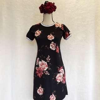 Floral Ringer Dress