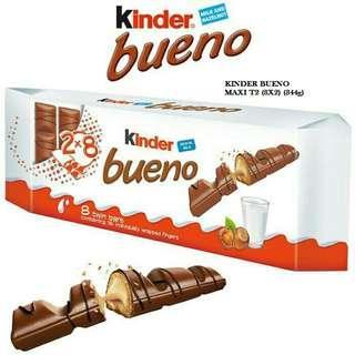 KINDER BUENO MAXI T2(8x2) (344g)