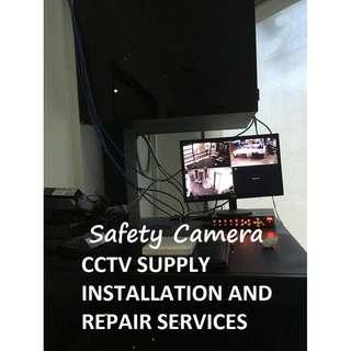 Safety Camera CCTV Supply Installation and Repair Services
