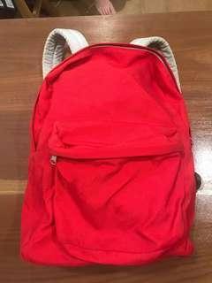 American Apparel 紅色背包
