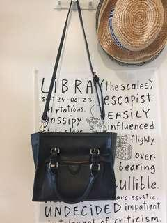 Zara black cross body bag