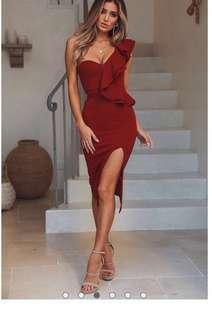 Brand new with tags Hello Molly one shoulder dress