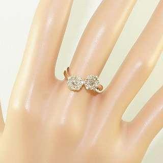 0.58 cts - 14k Diamond Ring (Pink / Rose Gold)