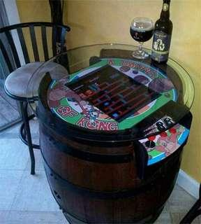 Bar Table - Retro 80's games coin operated