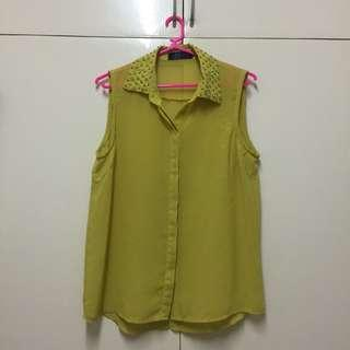 Candy Yellow Blouse