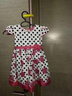 BN Little dotty dress