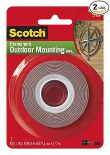 3M Scotch Permanent Outdoor Mounting Tape
