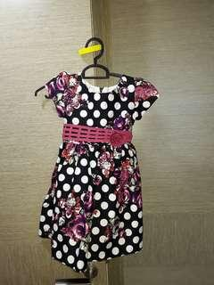 BN Flowery dotty dress