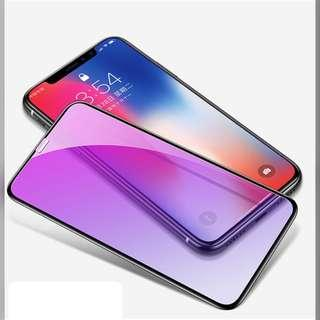 IPhone X iphone Xs anti blue light tempered glass