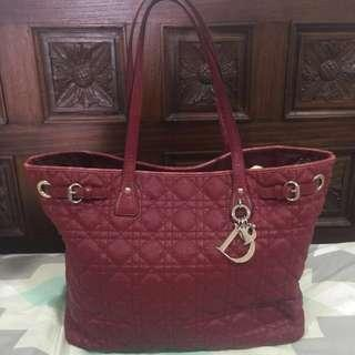 [PRICE REDUCED] DIOR Panarea Tote Red