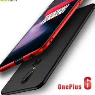 (New Launch! High Quality Ultra Slim Case! Ready Stocks! New Arrival!) One Plus 6 Anti Shock Full Protection Casing 360 Degree